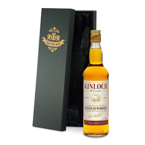 Personalised Blended Whisky With Father's Day Label From Something Personal