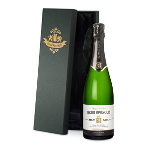 Personalised Birthday Cava From Something Personal