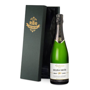 Personalised Graduation Cava From Something Personal
