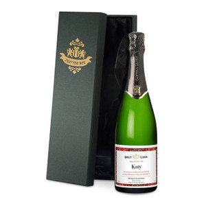 Personalised Valentines Day Labels Cava From Something Personal