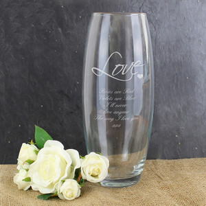 Personalised Love Bullet Vase From Something Personal