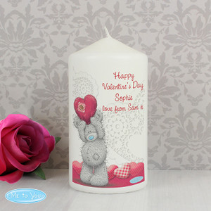 Personalised Me To You Heart Candle From Something Personal