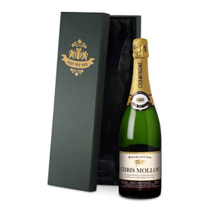 Personalised Graduation Champagne From Something Personal