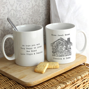 Personalised 1805 - 1874 Map Home Mug From Something Personal