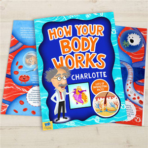 How Your Body Works Personalised Book From Something Personal