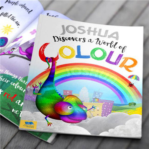Discovers a World of Colour Personalised Book From Something Personal