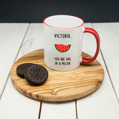 Personalised You Are One In A Melon Mug From Something Personal