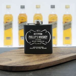 Personalised Whiskey Vintage Hip Flask From Something Personal