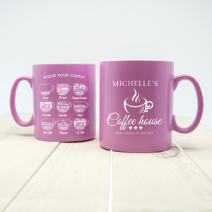 Personalised Coffee House Mug From Something Personal