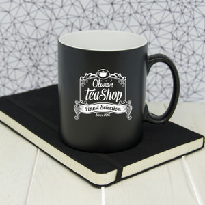 Personalised Tea Shop Mug From Something Personal