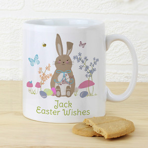 Personalised Easter Meadow Bunny Mug From Something Personal