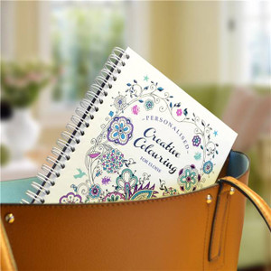 Personalised Creative Colouring Travel Edition From Something Personal