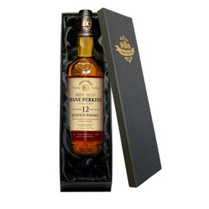 Personalised Single 12 Year Old Malt Wedding Whisky From Something Personal