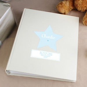 Personalised Stitch & Dot Boys Album With Sleeves From Something Personal