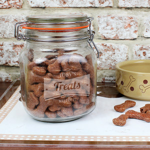 Personalised Retro Label Kilner Jar From Something Personal