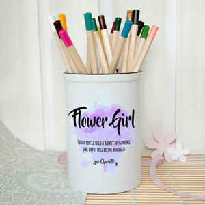 Personalised Will You Be My Bridesmaid Personalised Miniature Bucket From Something Personal