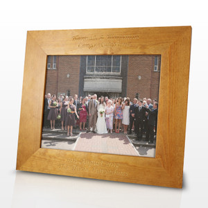 Personalised Landscape Wooden Frame 8X10