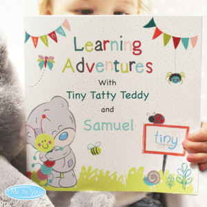 Personalised Tiny Tatty Teddy Learning Adventure Book From Something Personal