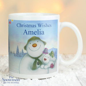 Personalised The Snowman Mug From Something Personal