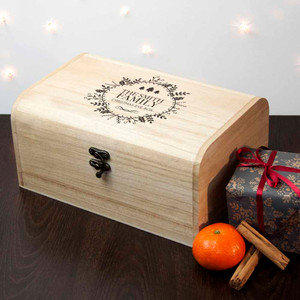 Personalised Traditional Family Christmas Eve Chest From Something Personal