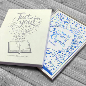 Personalised Modern Nursery Rhymes Embossed Classic Hardcover From Something Personal