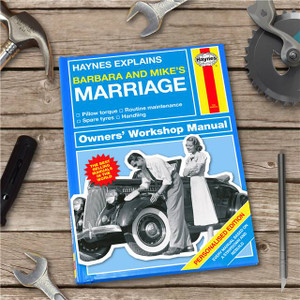 Personalised Haynes Explains Marriage Book From Something Personal