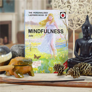 Personalised Mindfulness Ladybird Book From Something Personal