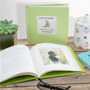 Personalised The Peter Rabbit Little Book Of Virtue From Something Personal