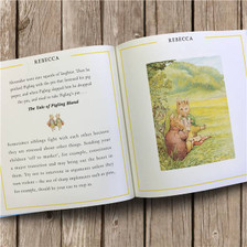 Personalised The Peter Rabbit Little Book Of Harmony From Something Personal