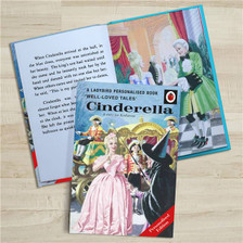 Personalised Cinderella Ladybird Book From Something Personal