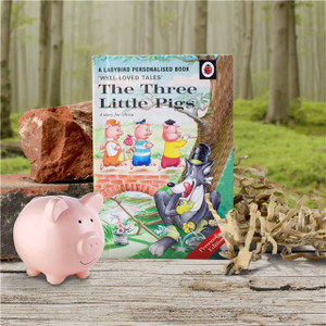 Personalised The Three Little Pigs Ladybird Book From Something Personal