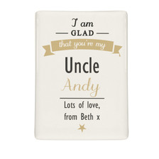 Personalised I Am Glad... Fridge Magnet From Something Personal