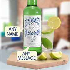 Personalised Modern Gin From Something Personal