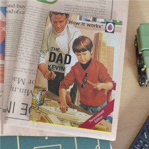 Personalised The Dad Ladybird Book From Something Personal