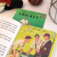 Personalised Cricket Ladybird Book From Something Personal