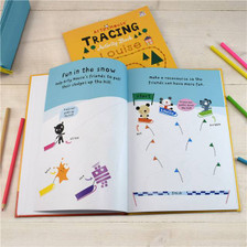 Personalised Arty Mouse Tracing Book From Something Personal