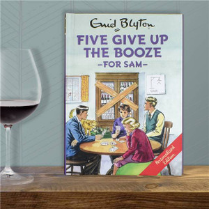 Personalised Five Give Up The Booze Book From Something Personal