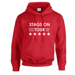 Personalised Stags On Tour Hoodie From Something Personal
