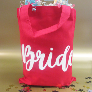 Personalised Bride Party Bag From Something Personal