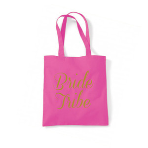 Personalised Bride Tribe Tote Bag From Something Personal
