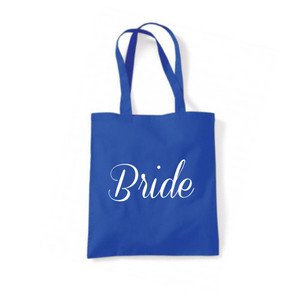 Personalised Bride Tote Bag From Something Personal