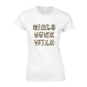 Personalised Girls Gone Wild Hen T Shirt From Something Personal