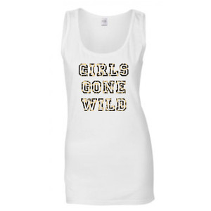 Personalised Girls Gone Wild Hen Vest From Something Personal