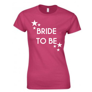 Personalised Stars Hen T Shirt From Something Personal