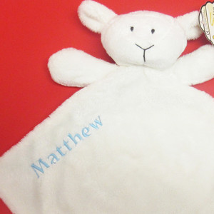 Personalised Luna Lamb Comforter From Something Personal