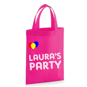 Personalised Balloons Party Bag From Something Personal