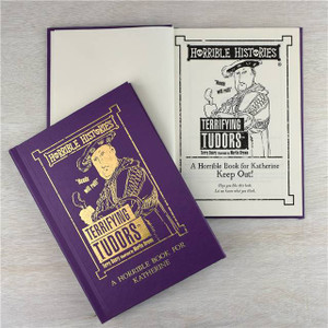Personalised Horrible Histories Terrifying Tudors Book From Something Personal