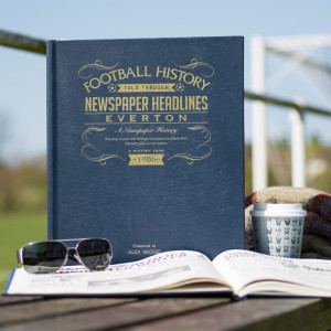 Personalised Everton Football Book From Something Personal