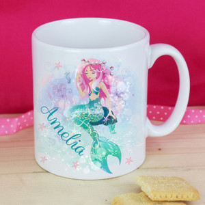 Personalised Mermaid Mug From Something Personal