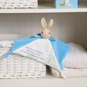 Personalised Peter Rabbit Comforter From Something Personal